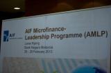 AIF Microfinance-Leadership Programme(AMLP)